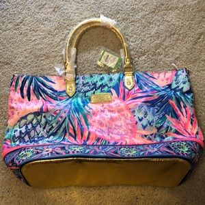 Lilly Pulitzer Nylon Large Beach Bag